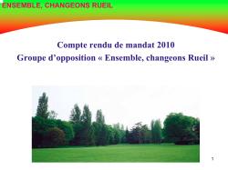 Présentation_CR mandat_15 avril 2010