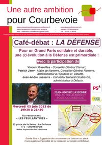 Cafe-debat La Defense-1